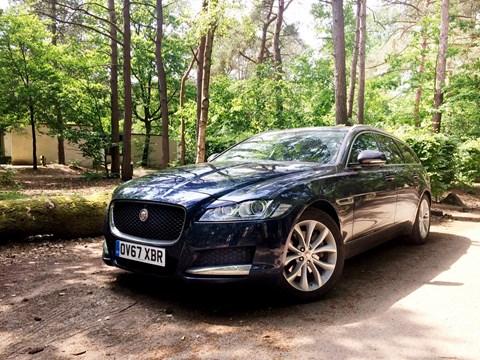 Jaguar XF Sportbrake estate long-term test review by CAR magazine UK