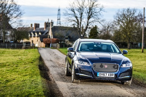 Jaguar XF Sportbrake: price of our 2.0 Prestige is £37,160 - or £49,615 with options
