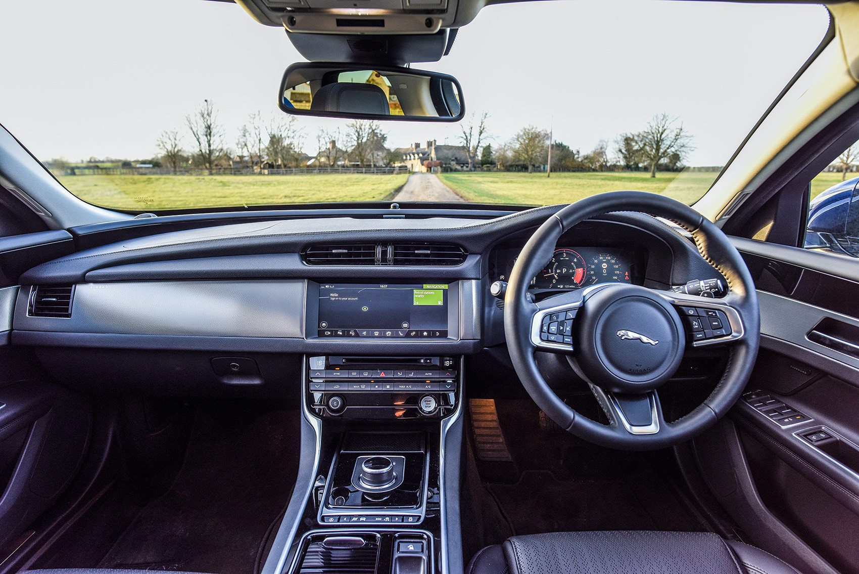 Great ... The Interior Of Our New 2018 Jaguar XF Sportbrake Estate