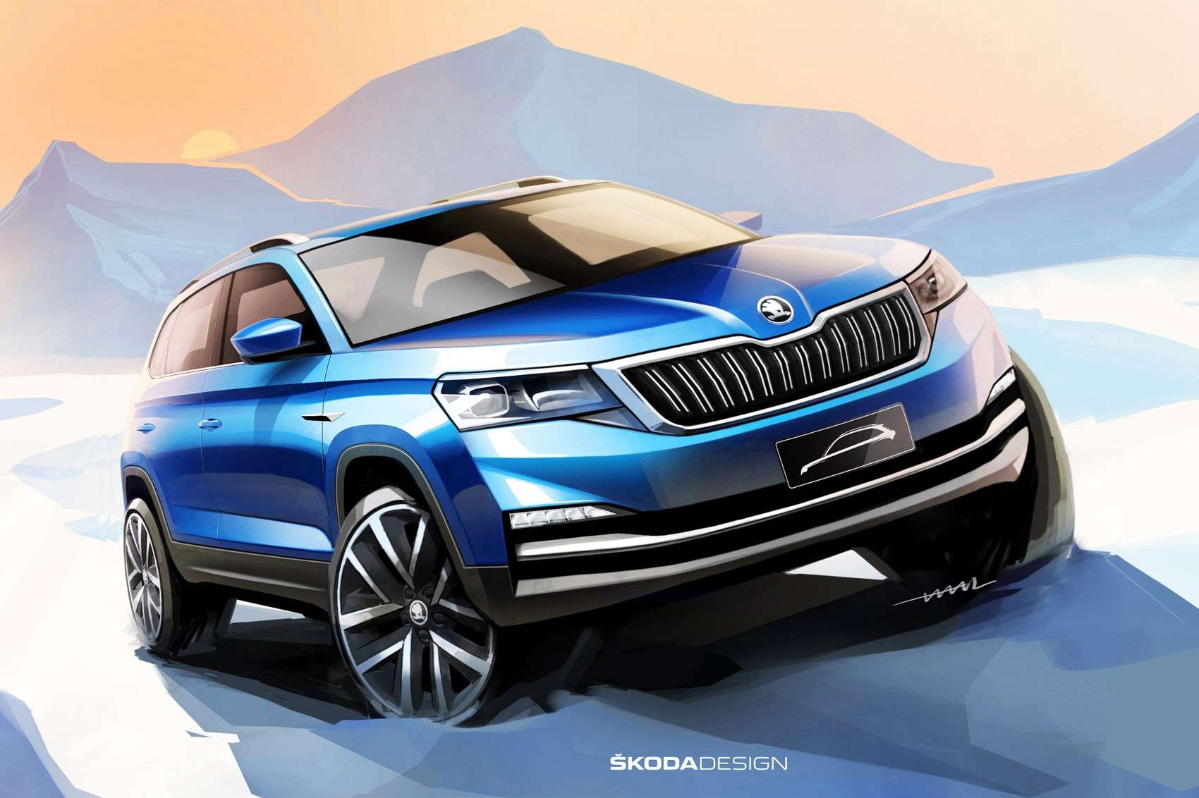 Skoda S New City Suv For China Is A Baby Karoq Car