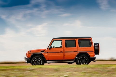 AMG G63 Colour Edition side pan