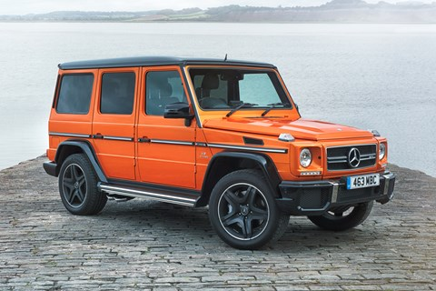 AMG G63 Colour Edition front quarter