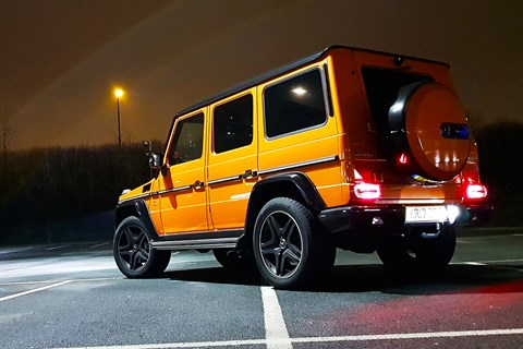AMG G63 Colour Edition night pic
