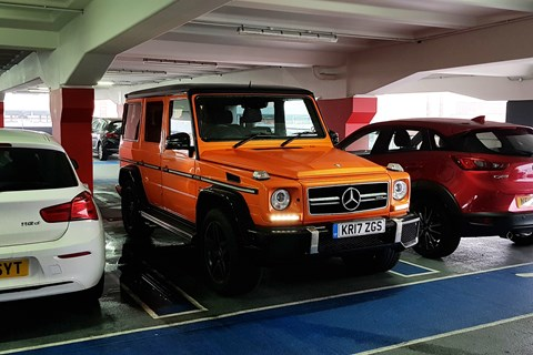 AMG G63 Colour Edition car park