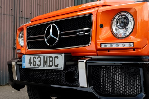 AMG G63 Colour Edition front bumper