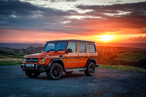 AMG G63 Colour Edition sunset