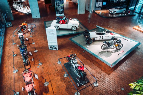 Honda Collection Hall entrance