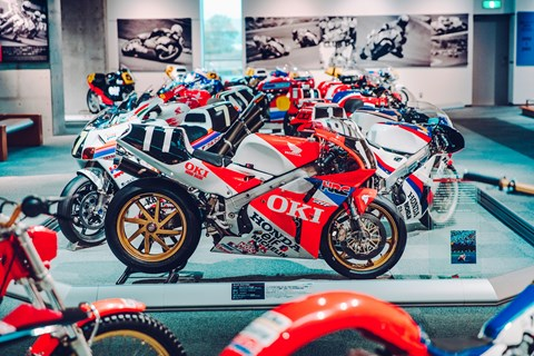 Honda Collection Hall motorcycles