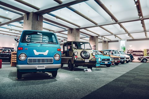Honda Collection Hall vans