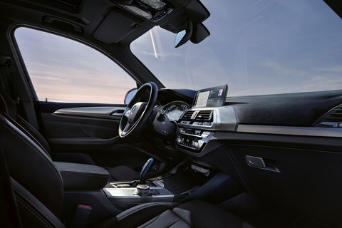 BMW iX3 interior 2021