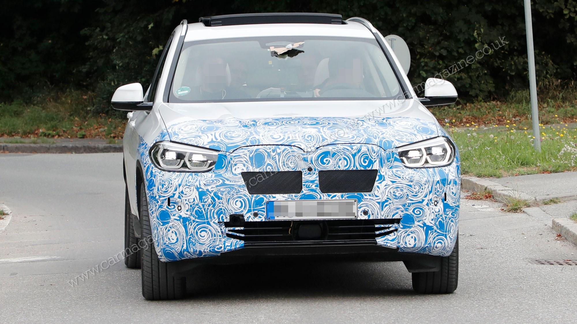 BMW iX3: new electric SUV caught testing