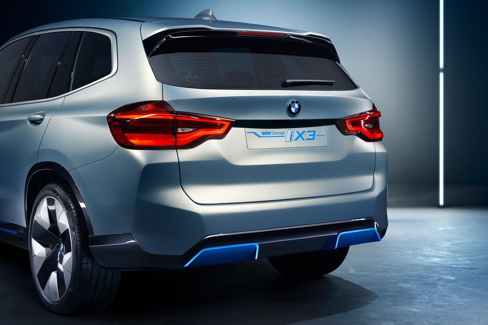New BMW IX3 Electric SUV: Munich Teases New Wheel Design