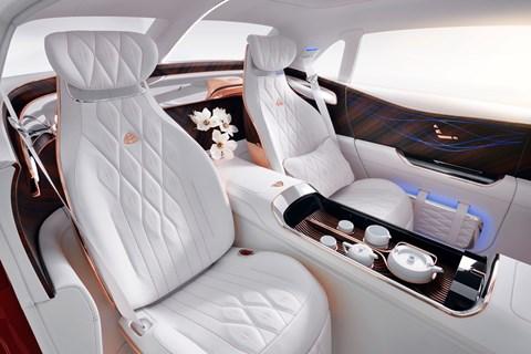 Maybach Ultimate Luxury rear seats