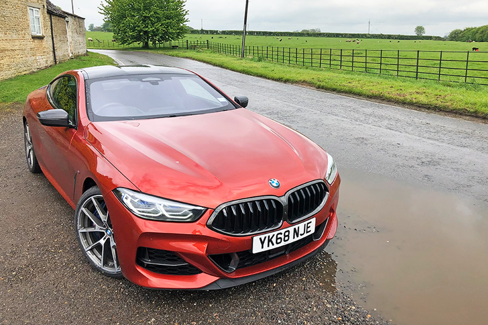 BMW 8-series rain