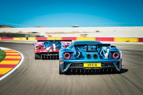 Ford GT twin rear tracking
