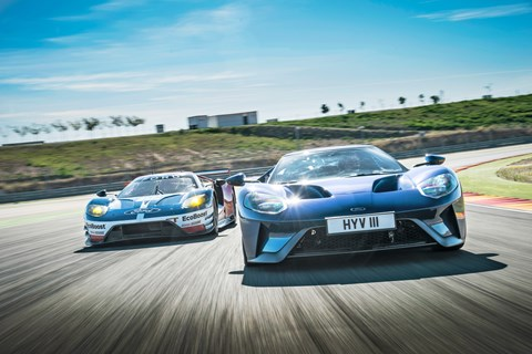 Ford GT twin tracking