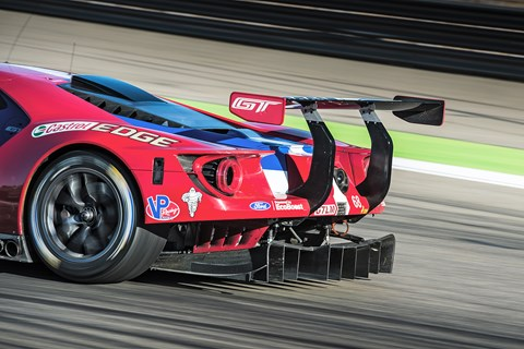 Ford GTE LM rear wing