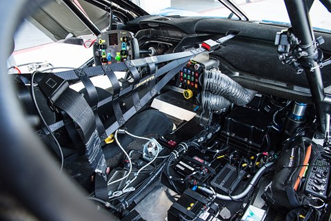Ford GTE LM interior