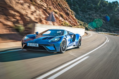 Ford GT road tracking