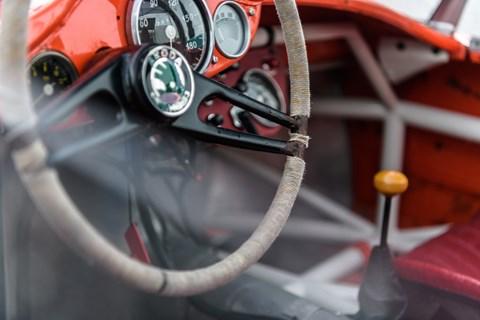 Skoda 1100 steering wheel
