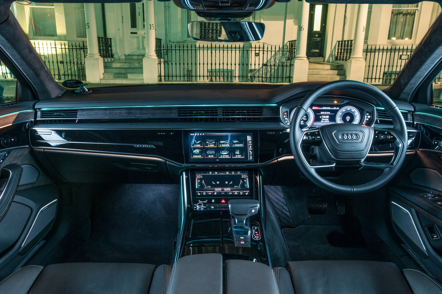 mercedes s class vs audi a8 vs bmw 7 series 2018 triple test review car magazine. Black Bedroom Furniture Sets. Home Design Ideas