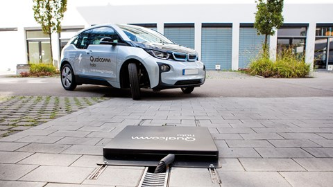 Wireless electric car charging: how it works