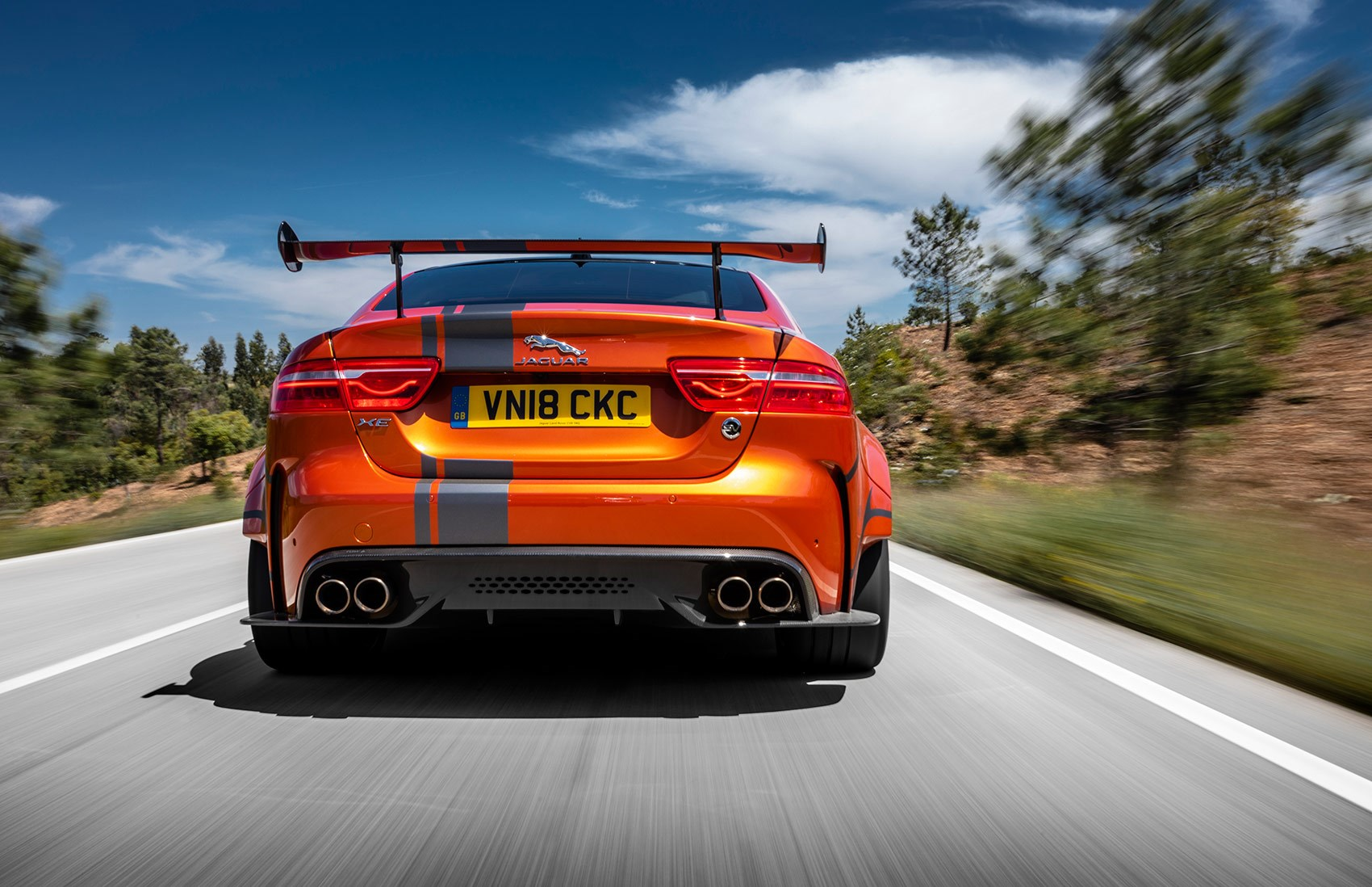 Project 8 rear end tracking