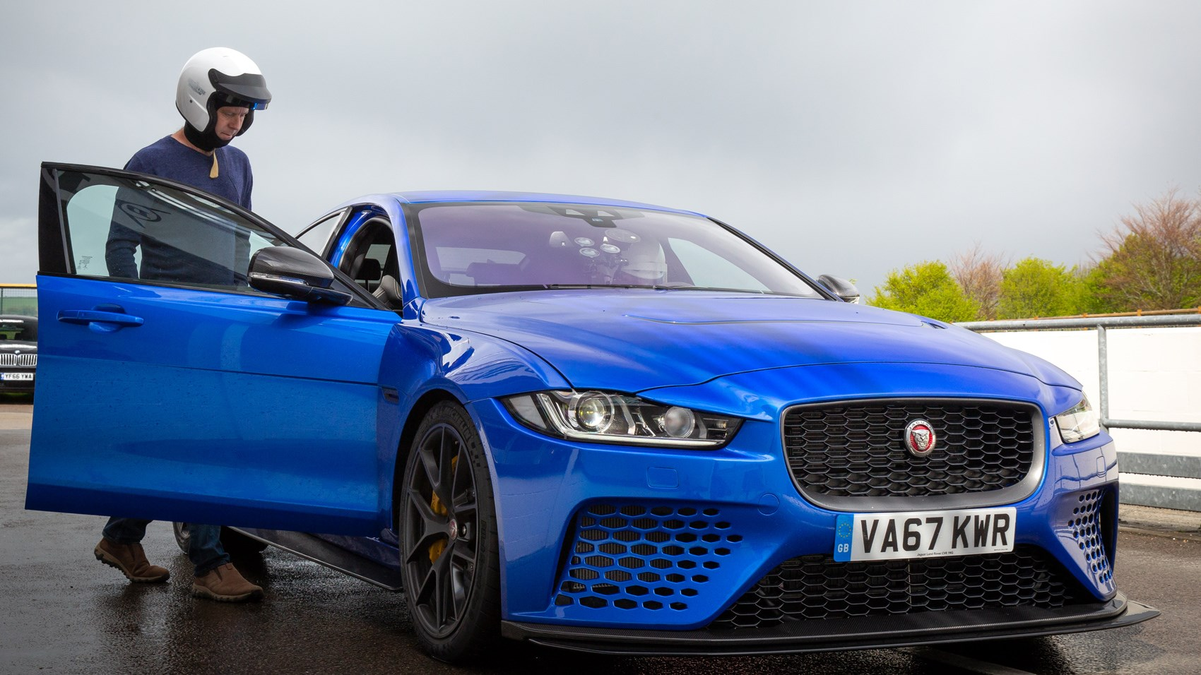 Jaguar XE Project 8 Ben Barry