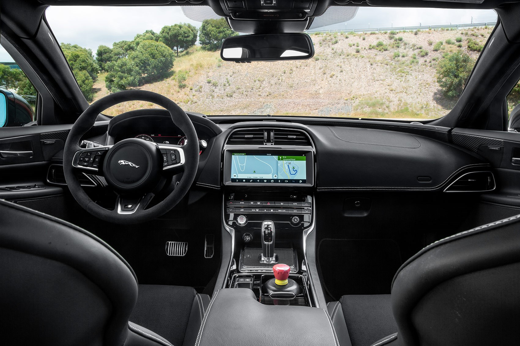 Jaguar XE SV Project 8 interior and cabin