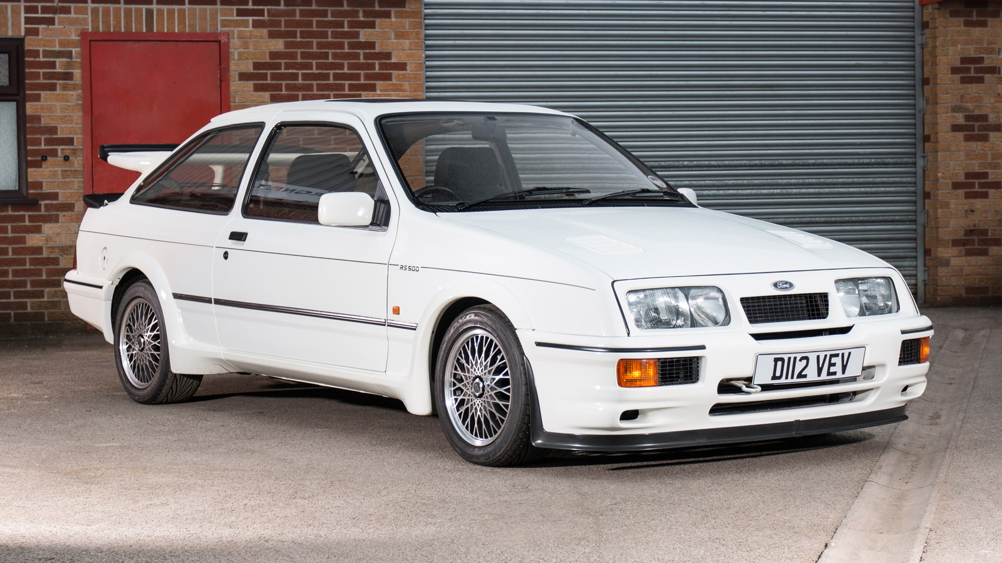 Ford And Ford Auction >> First Ever Ford Sierra Cosworth Rs500 Goes Up For Auction