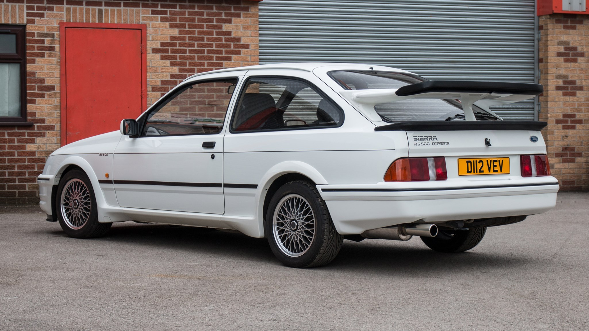 Ford Ford Auction >> First Ever Ford Sierra Cosworth Rs500 Goes Up For Auction Car Magazine