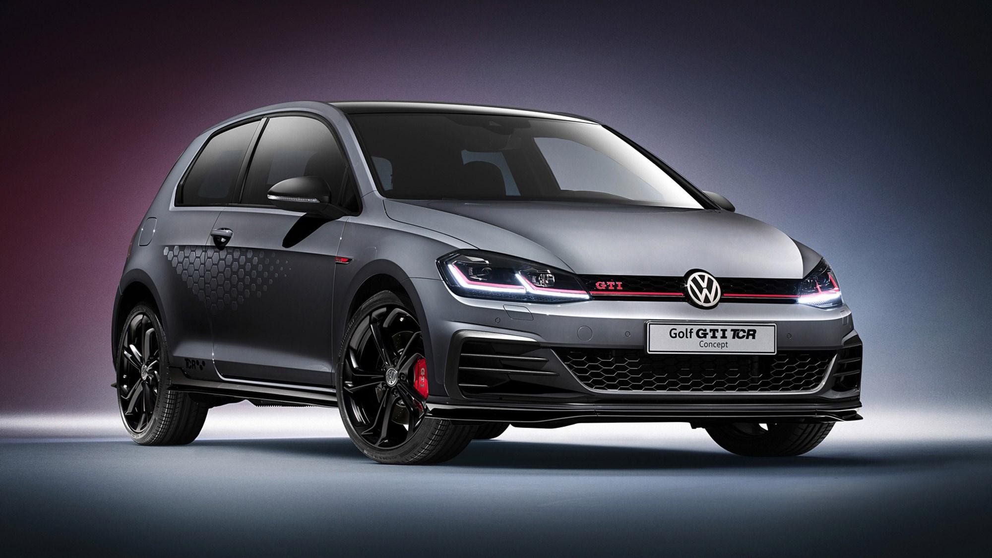 vw golf gti tcr fastest road legal golf gets official car magazine. Black Bedroom Furniture Sets. Home Design Ideas