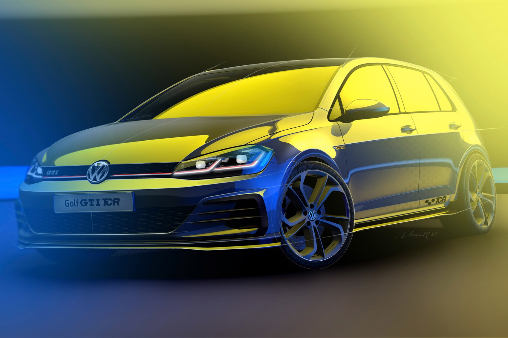 VW Golf GTI TCR heads to Wörthersee with 286-hp