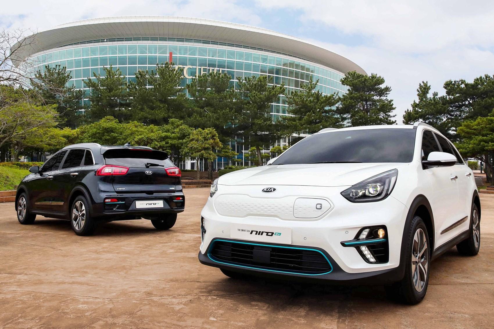 december bangkok photo expo electric car show thailand kia ev motor of stock editorial soul presented image