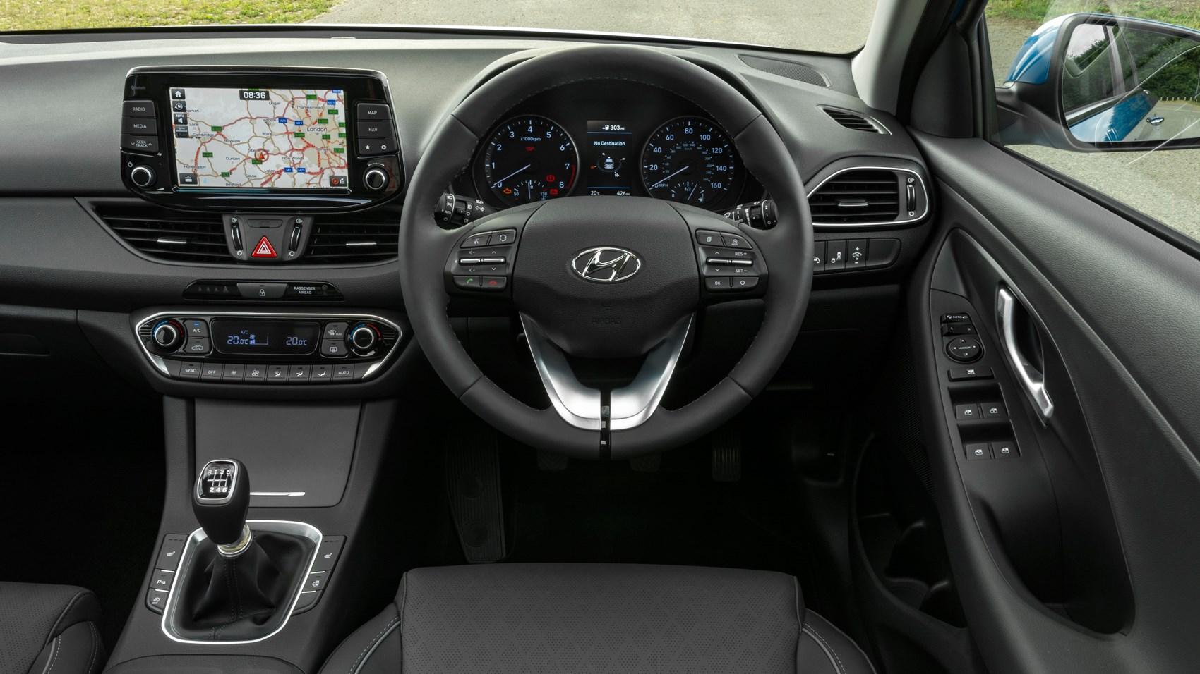 Hyundai i30 Tourer estate interior
