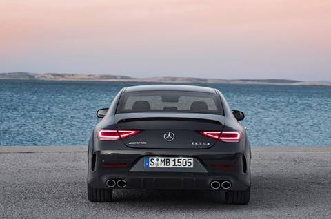 Mercedes-AMG CLS 53: now with EQ Boost and mild hybrid set-up