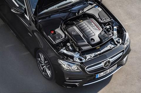 Mercedes-AMG 53 models: halfway to a 63
