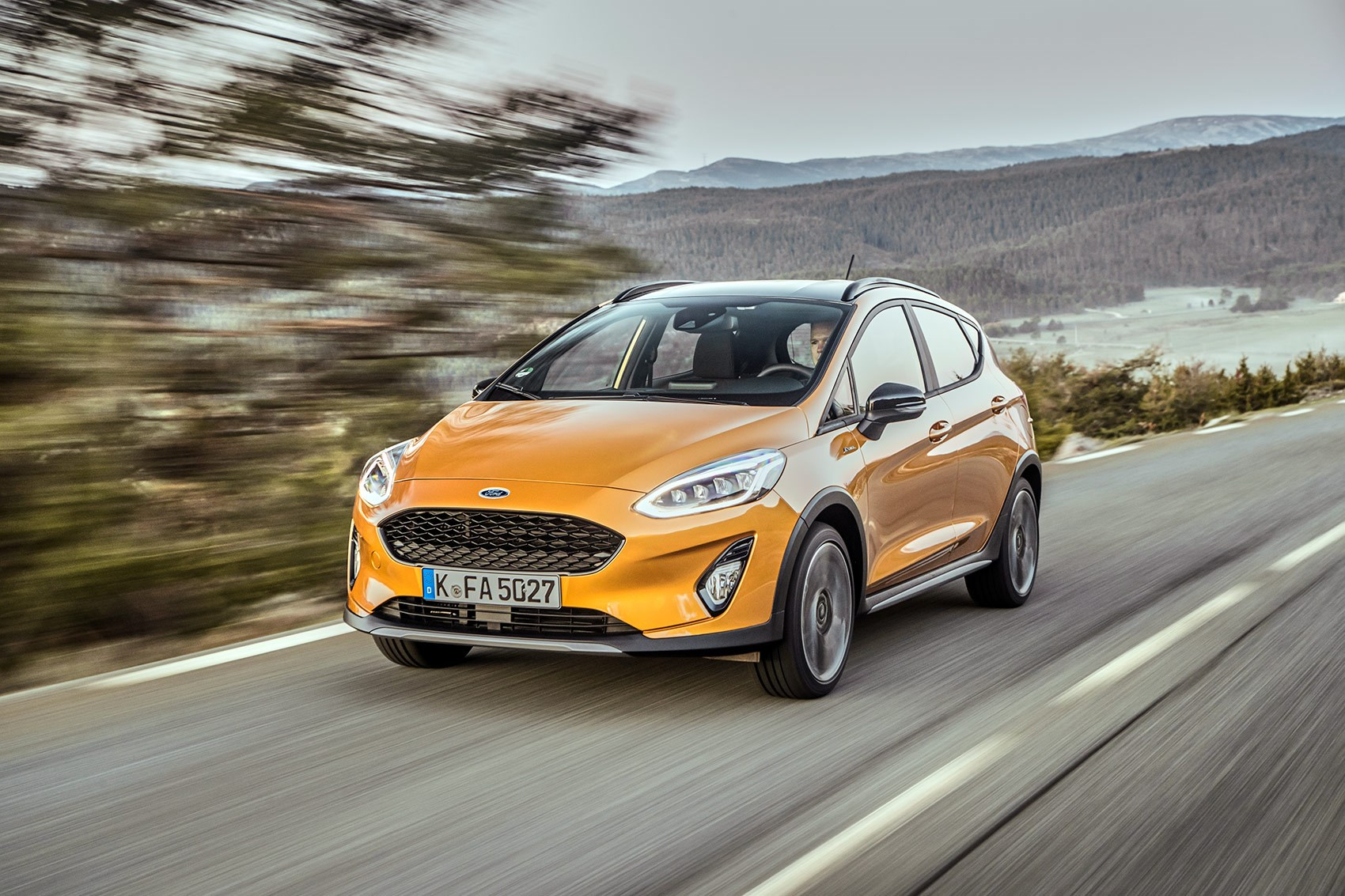 ford fiesta active review 2018 car magazine. Black Bedroom Furniture Sets. Home Design Ideas