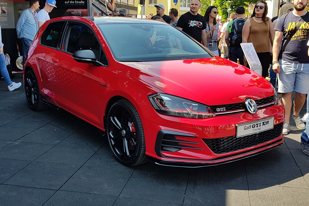 a06cde17 And this year it was the Golf GTI TCR concept – a punchier, derestricted  hot hatch that's confirmed for production at the end of 2018.