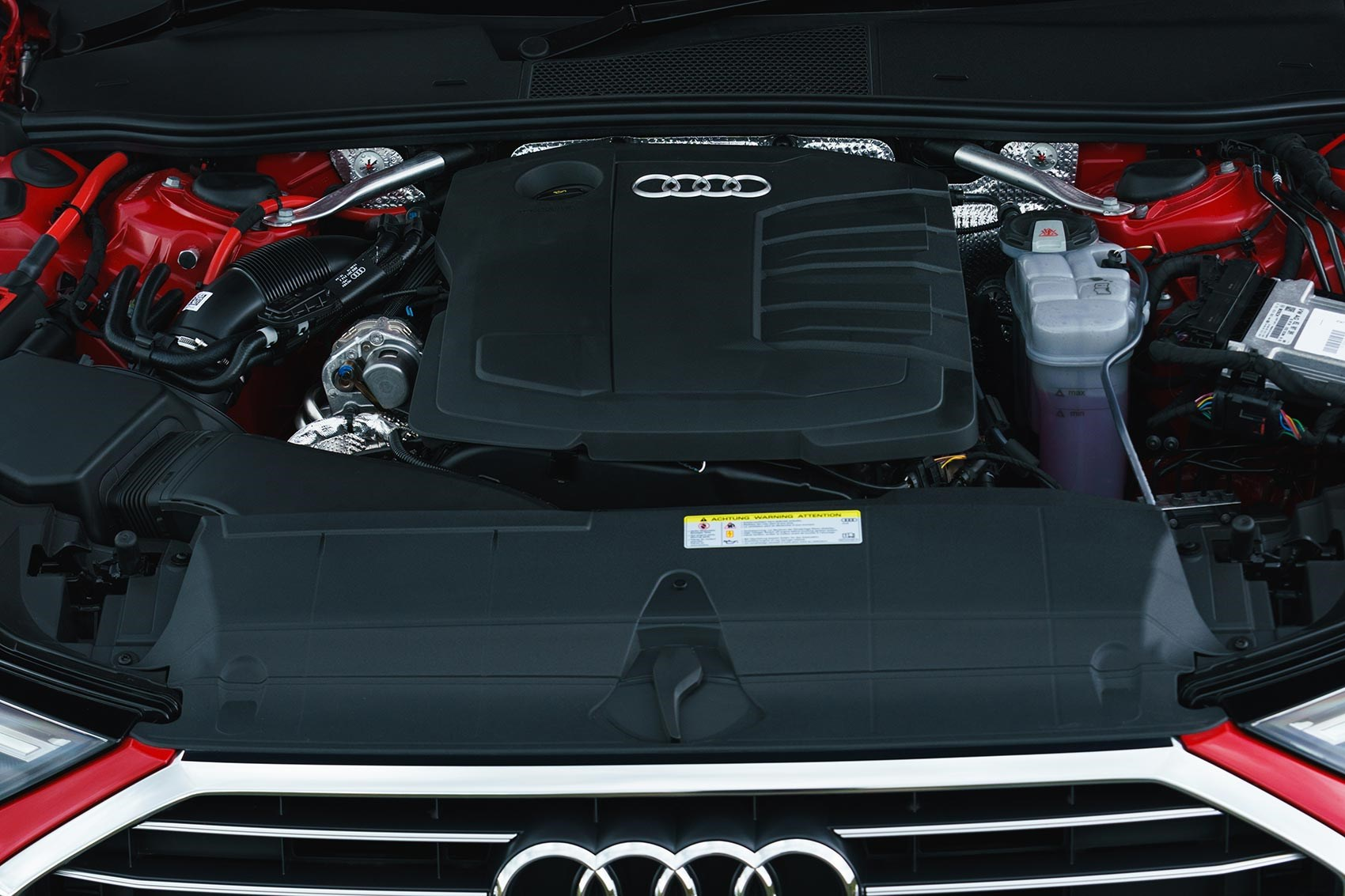Diesel engines will predominate in the new Audi A6 for the time being