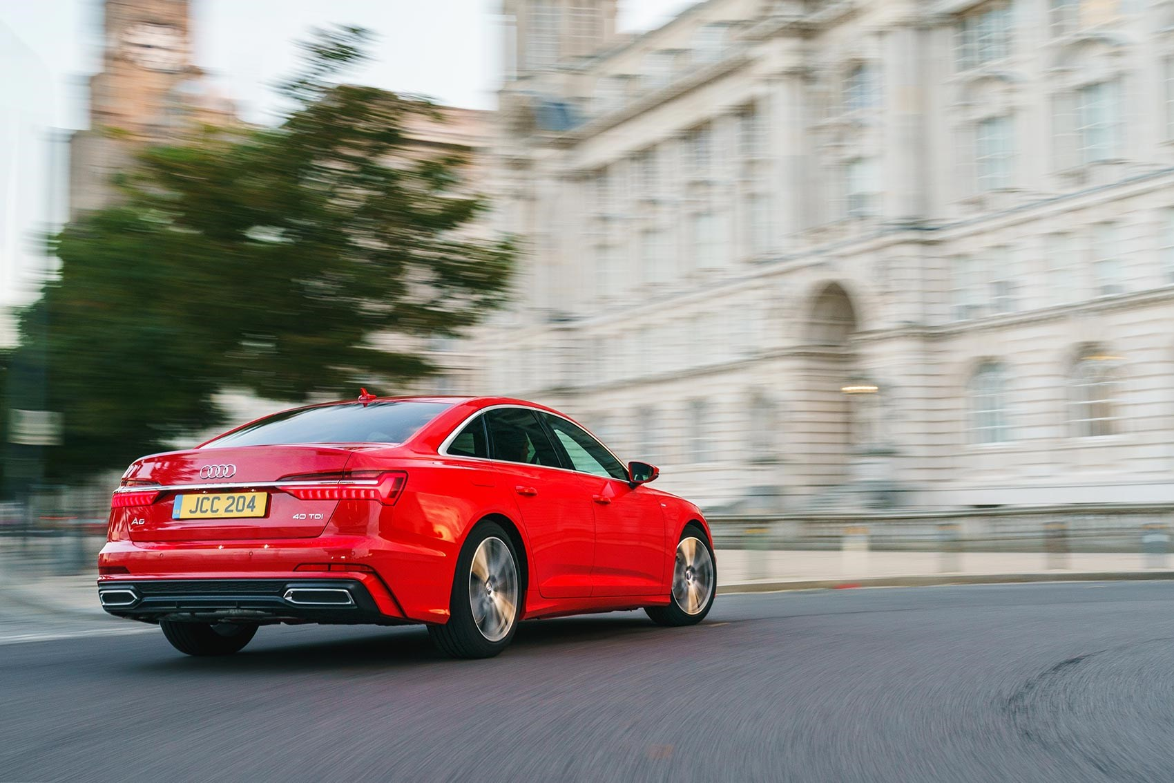 Audi A6 review in the UK by CAR magazine