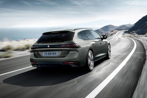 Paris motor show preview: the new Peugeot 508 SW estate is confirmed