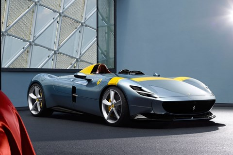 Ferrari Monza SP1 and SP2 twins are a good surprise from Maranello