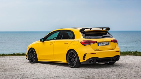 Mercedes-AMG A35 hot hatch: a 2018 Paris motor show premiere