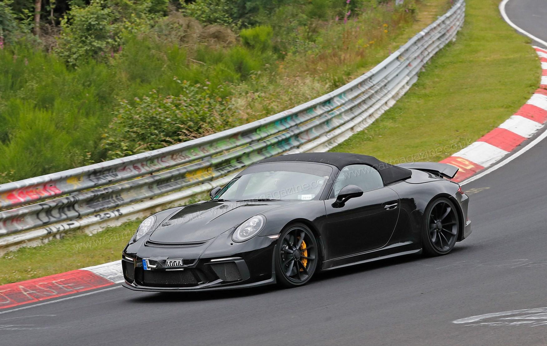 Porsche 911 Speedster Spy Photos Specs Prices Car Magazine