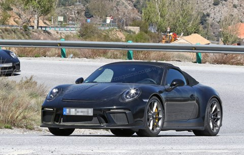 New 2018 Porsche 911 Speedster