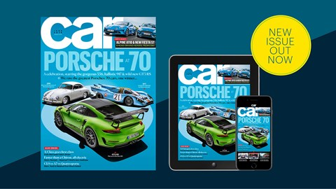CAR magazine June 2018: a Porsche 70th birthday special