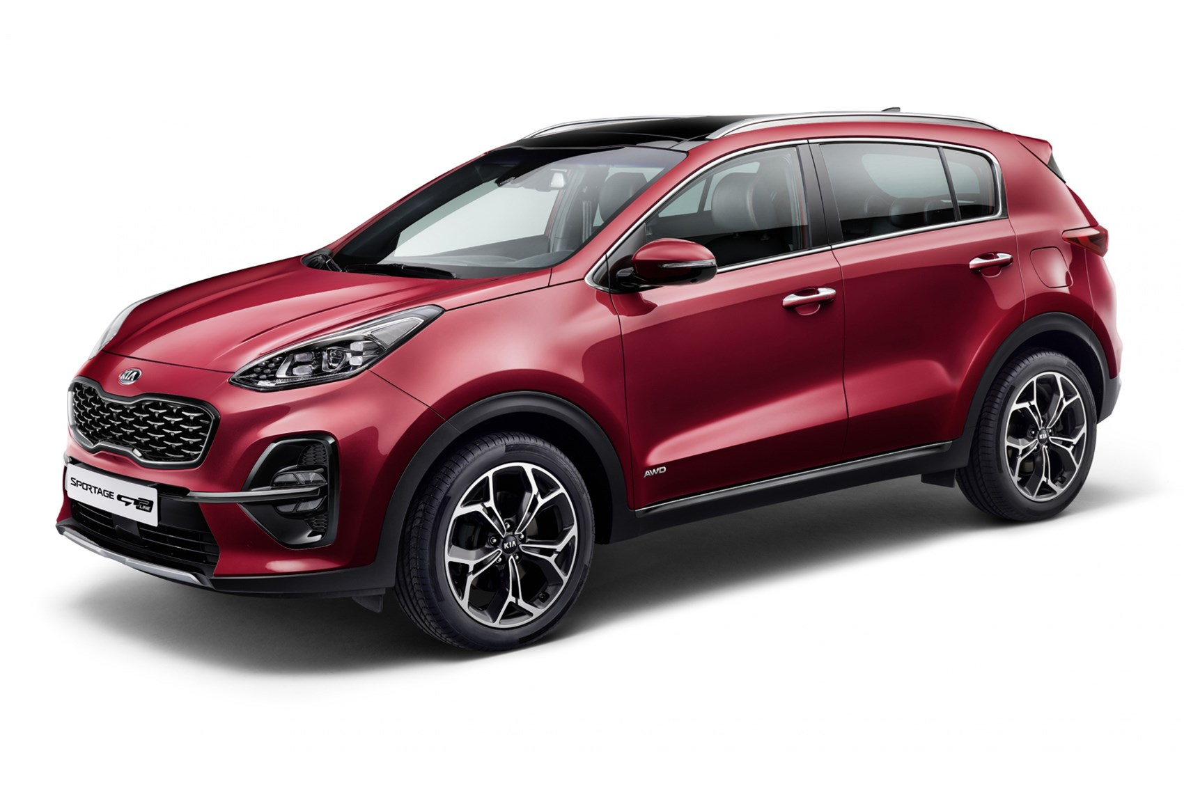 new 2018 kia sportage tweaks include new mild hybrid. Black Bedroom Furniture Sets. Home Design Ideas