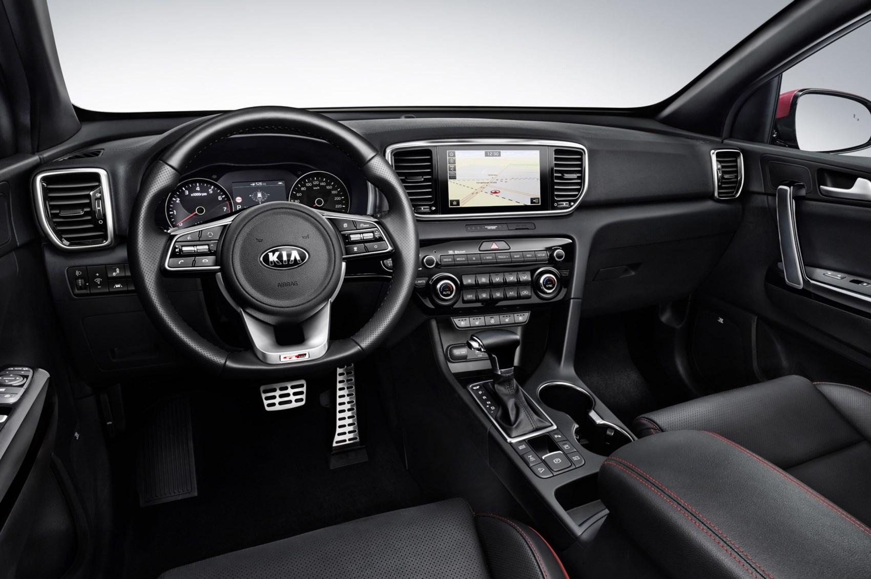 new 2018 kia sportage tweaks include new mild hybrid system car magazine. Black Bedroom Furniture Sets. Home Design Ideas