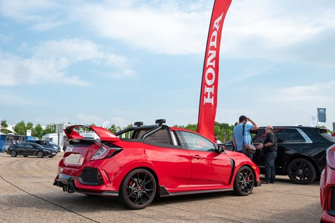 Honda Civic Type R pick-up truck review by CAR magazine